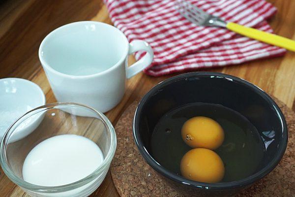 วิธีทำ ข้าวไข่ข้น