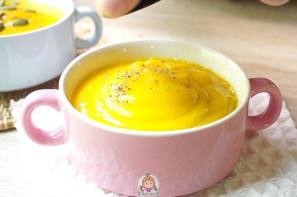 ซุปฟักทอง สูตรคลีน